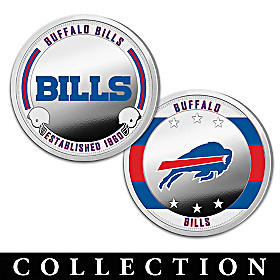 The Buffalo Bills Proof Coin Collection