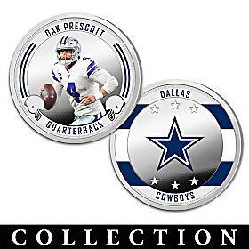 The Dallas Cowboys Proof Coin Collection