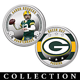 The Green Bay Packers Proof Coin Collection