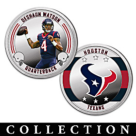 The Houston Texans Proof Coin Collection