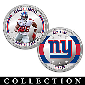 The New York Giants Proof Coin Collection