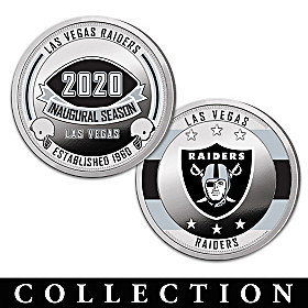 The Las Vegas Raiders Proof Coin Collection