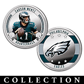 The Philadelphia Eagles Proof Coin Collection