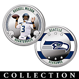 The Seattle Seahawks Proof Coin Collection