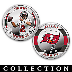 The Tampa Bay Buccaneers Proof Coin Collection