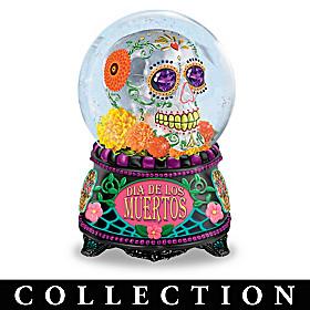 Sugar Skull Glitter Globe Collection