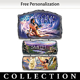 Seasons Of Serenity Personalized Welcome Sign Collection