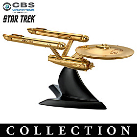 STAR TREK Cast Metal Sculpture Collection