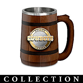 Dallas Cowboys Tankard Collection