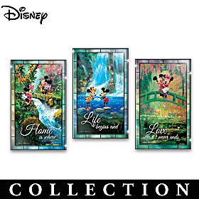 Disney Perfect Together Wall Decor Collection
