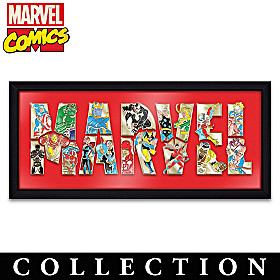 MARVEL Comics Puzzle Pin Collection