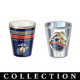 History Of The USMC Shot Glass Collection
