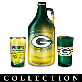 Green Bay Packers Growler Collection