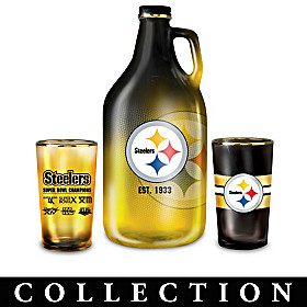 Pittsburgh Steelers Growler Collection