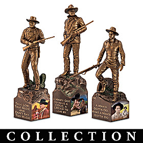 John Wayne: The Man, The Legend Sculpture Collection