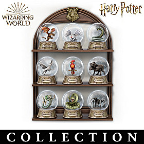 Magical Creatures Glitter Globe Collection