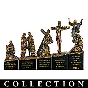 His Love And Sacrifice Sculpture Collection