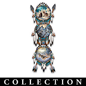 Legend Of The Wolf Collector Plate Collection