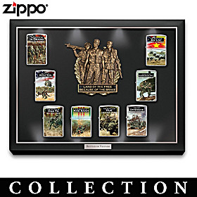 Greatest Battles Of Vietnam Zippo® Lighter Collection