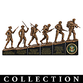 This We'll Defend - History Of The Army Sculpture Collection