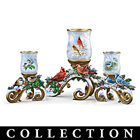 Winter's Song Candleholder Collection