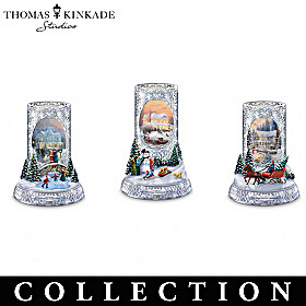 Sparkling Lights, Winter Nights Candleholder Collection