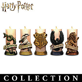 HARRY POTTER HOGWARTS House Candle Collection