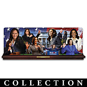 Kamala Harris Collector Plate Collection