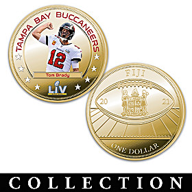 Buccaneers Super Bowl LV Champions Dollar Coin Collection