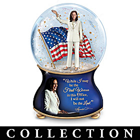 Kamala Harris Glitter Globe Collection