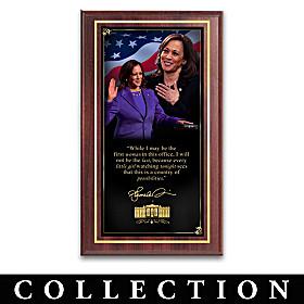 Kamala Harris: Reshaping History Wall Decor Collection