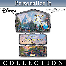 Disney Magical Moments Personalized Welcome Sign Collection