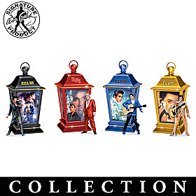 Elvis Through The Years Lantern Collection