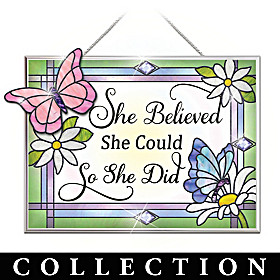 Believe In Yourself Suncatcher Collection
