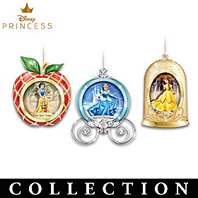Disney Believe In The Magic Ornament Collection