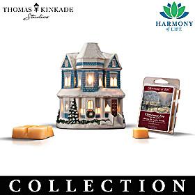 Thomas Kinkade Wax Melt Warmer Sculpture Collection