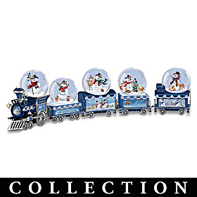 Dona Gelsinger Snowball Express Snowglobe Collection