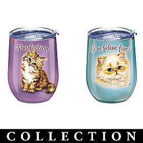 Feline Fine Drinkware Collection