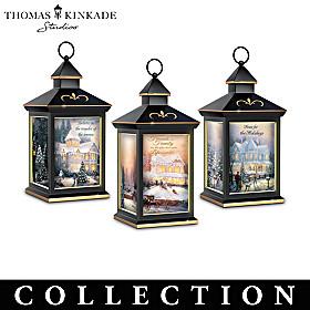 Thomas Kinkade Lighting The Way Lantern Collection
