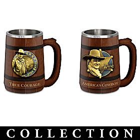 John Wayne: Spirit Of A Hero Tankard Collection