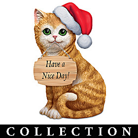 Purr-fect Style For Every Season Sculpture Collection