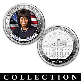 The First Lady Michelle Obama Proof Coin Collection