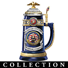 USMC: Salute To Heroism Stein Collection