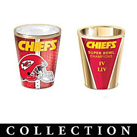 Kansas City Chiefs Shot Glass Collection