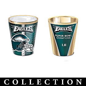 Philadelphia Eagles Shot Glass Collection