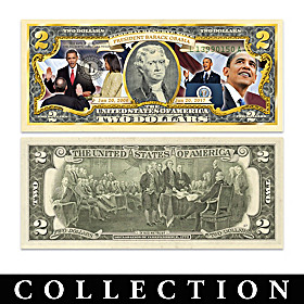 The All-New President Obama $2 Bill Currency Collection