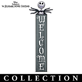 The Nightmare Before Christmas Welcome Sign Collection