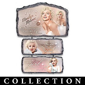 Marilyn Monroe: In Her Own Words Wall Decor Collection