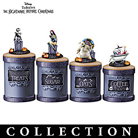 The Nightmare Before Christmas Kitchen Canister Collection