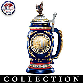 We Will Never Forget Tribute Stein Collection